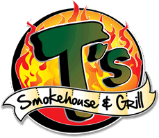 T's Smokehouse logo